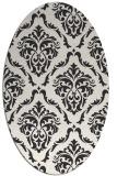 rug #517904 | oval damask rug