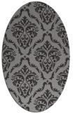 rug #517943 | oval traditional rug