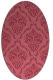 rug #517992 | oval damask rug