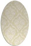 rug #518189 | oval white traditional rug