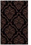 rug #518265    black traditional rug