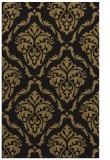 rug #518269 |  black traditional rug