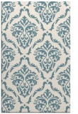 rug #518273 |  blue-green traditional rug