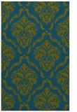 rug #518309 |  green damask rug