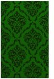 rug #518317 |  green damask rug