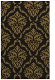 rug #518365 |  mid-brown traditional rug