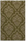 rug #518369 |  brown damask rug