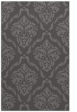 rug #518397 |  mid-brown damask rug
