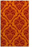 rug #518437 |  orange traditional rug