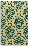 rug #518453 |  yellow damask rug