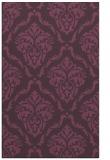 rug #518473 |  purple rug