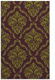 rug #518477 |  purple traditional rug