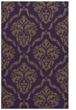 rug #518481 |  mid-brown damask rug