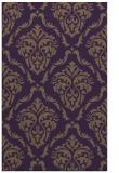 rug #518481 |  purple traditional rug