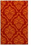 rug #518493 |  orange traditional rug