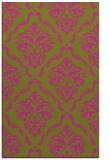 rug #518577 |  light-green damask rug