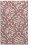 rug #518589 |  pink damask rug