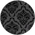 rug #518610   round damask rug