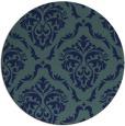rug #518634 | round damask rug