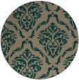 rug #518724 | round traditional rug
