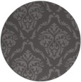 rug #518749 | round mid-brown traditional rug