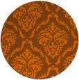 rug #518859   round traditional rug