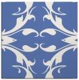 rug #519345 | square blue damask rug