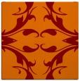 rug #519493   square red-orange damask rug