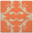 rug #519501   square orange damask rug
