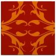 rug #519549 | square red damask rug