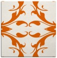 rug #519573 | square red-orange damask rug
