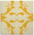 rug #519593 | square yellow damask rug