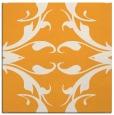 rug #519653 | square light-orange damask rug