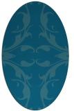 rug #519707 | oval damask rug