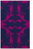 rug #520037 |  blue damask rug