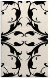 rug #520085 |  blue-green damask rug