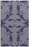 rug #520097 |  blue-violet damask rug