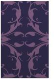 rug #520105 |  purple damask rug