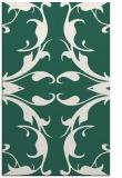 rug #520141    green damask rug
