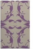 rug #520189 |  purple damask rug