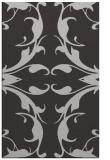rug #520209    orange damask rug