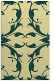 rug #520213 |  yellow damask rug
