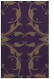 rug #520241 |  purple damask rug