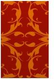 rug #520253    red damask rug