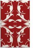 rug #520257    red damask rug
