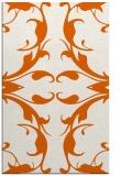 rug #520277 |  red-orange damask rug