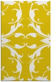 rug #520309 |  yellow damask rug