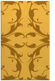 rug #520313 |  light-orange damask rug