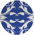 rug #520406 | round damask rug