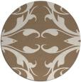 rug #520513 | round damask rug